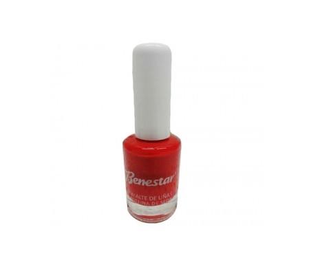 Benestar® esmalte de uñas rojo pasión