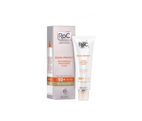 ROC® Soleil-Protect fluido antiarrugas alisador SPF50+ 50ml
