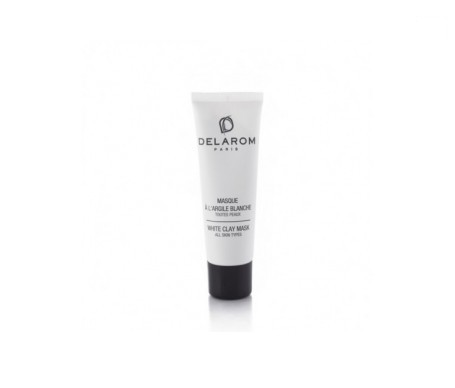 Delarom white clay mask 50ml