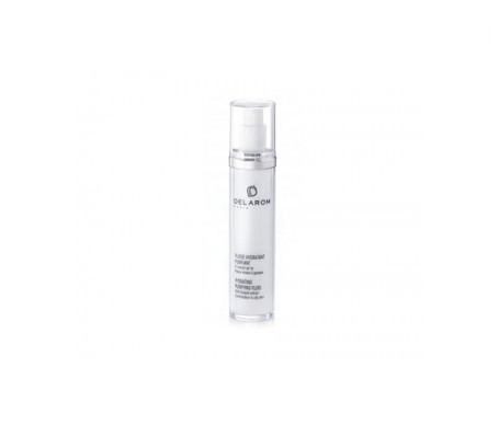Delarom moisturising purifying fluid 50ml