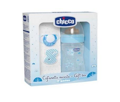 Chicco set regalo Physio +0M color azul