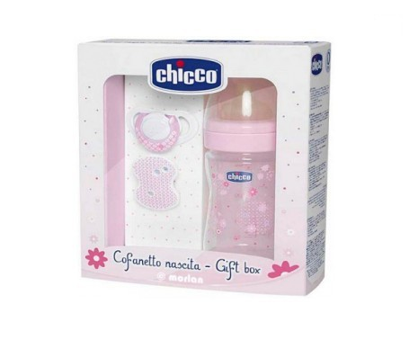 Chicco set regalo Physio +0M color rosa