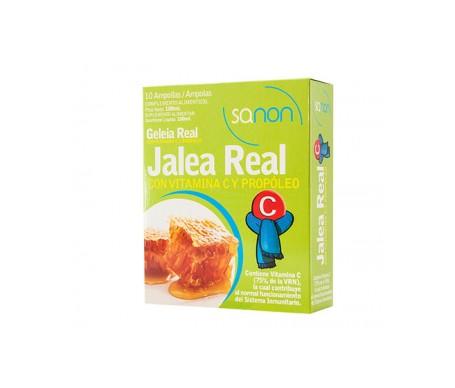 Sanon royal jelly + vitamin C + propolis 10 vials