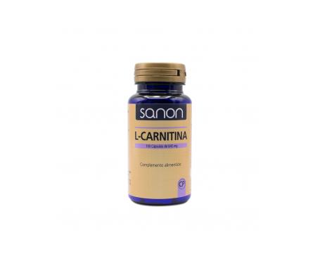 Sanon L-carnitina 100cáps