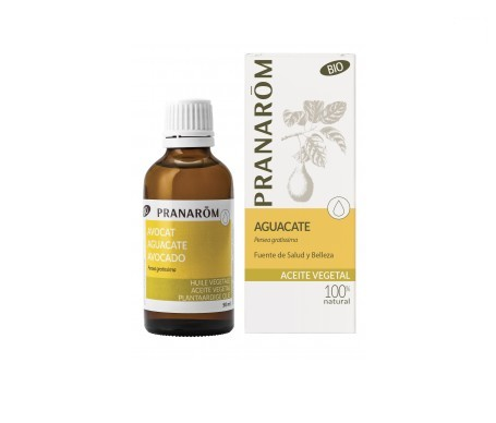 Pranarôm aceite vegetal aguacate 50ml Bio