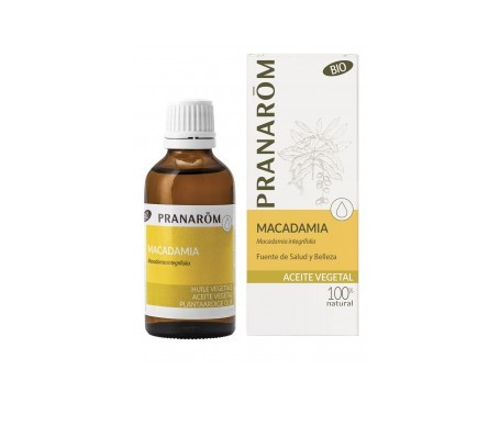 Pranarôm aceite vegetal macadamia BIO 1000ml