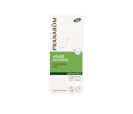 Pranarôm Aromaforce jarabe respiración fácil BIO 150ml