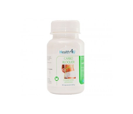 H4U Carbo Bloquer 550mg 90cáps