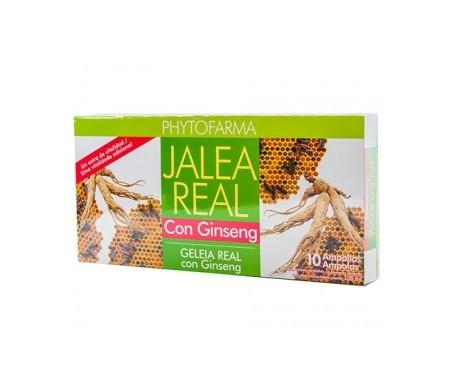 Phytofarma Jalea Real con Ginseng 10amp