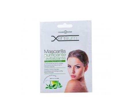 Xensium Rivitalizzante maschera purificante 1 pz