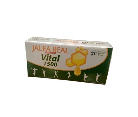 GHF Jalea Real Vital 1500 30ampX10ml