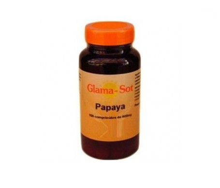 Glama-Sot Papaya 600mg 100comp