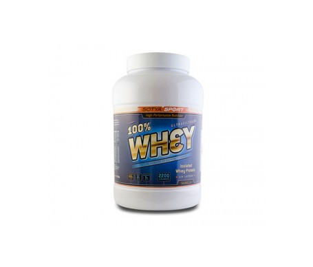 Sotya Proteína Whey 100% Vainilla 2,2kg