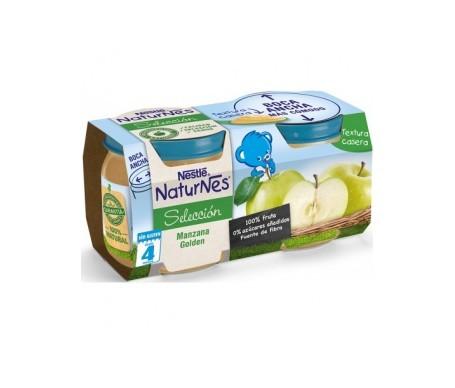 NaturNes manzana golden 200g+200g