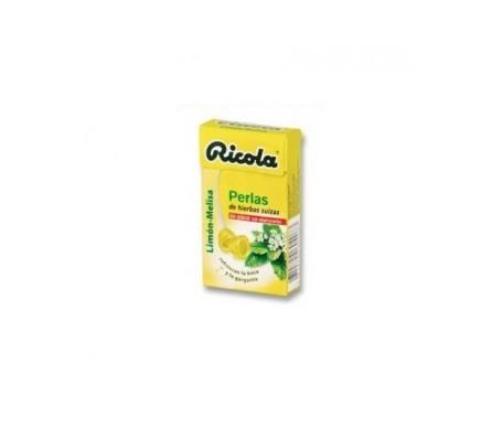 Ricola limón perlas sin azúcar 25g