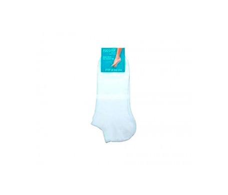 Podosan calcetín stop olor blanco tobillero talla 35-38