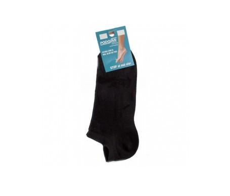 Podosan calcetín stop olor negro corto talla 39-42
