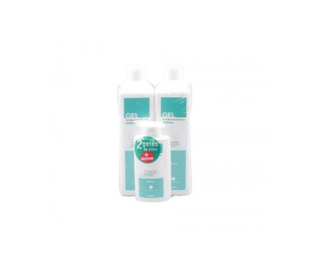 Inibsa Pack gel 2x1l+ 200ml De Regalo