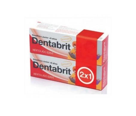 Dentabrit Junior pack pasta dental 2x50ml