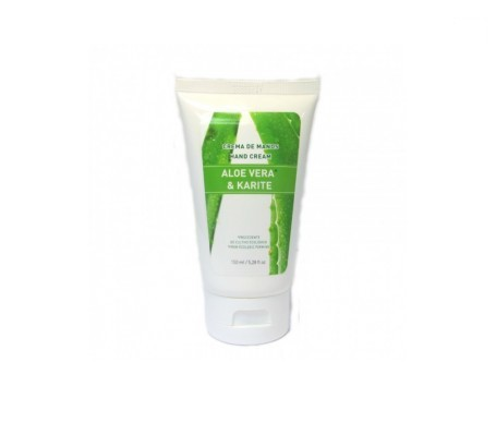 The Ecological Cosmetics crema de manos aloe vera y karité 150ml
