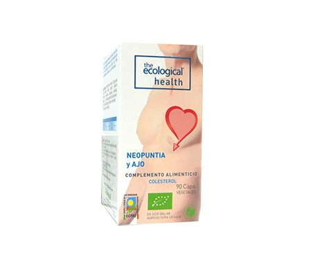 The Ecological Health Cholesterol Neopuntia and Garlic 90caps