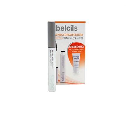 Belcils rinforzo ciglia mascara 7ml + occhio trucco gel rimozione 20ml GIFT