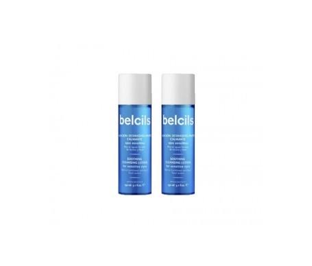 Belcils lenitivo make-up remover lozione 2x150ml