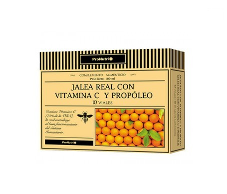 Pronutri royal jelly with vitamin C and propolis 10 vials