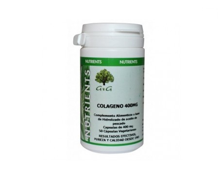 Collagene naturale 400mg 50 capsule