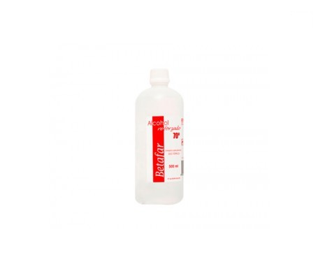 Betafar alcohol 70º reforzado 500ml