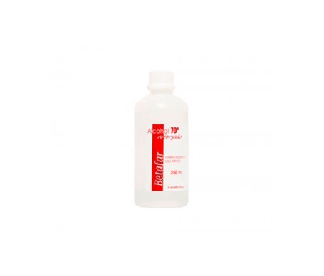 Betafar alcohol 70º reforzado 250ml