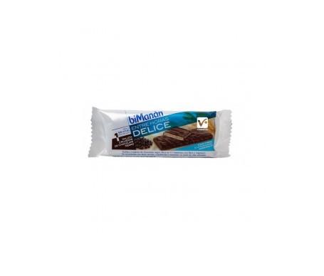 biManán® galleta crujiente choco negro 24uds