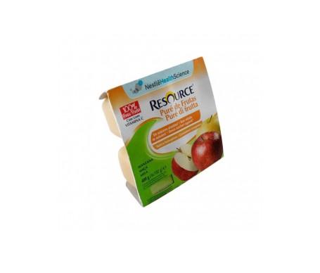Resource pure manzana 4 tarrinas x 100g