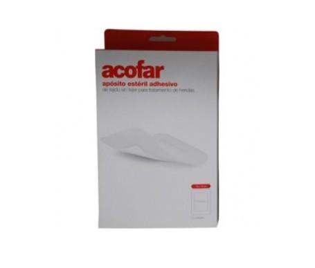 Acofar apósito estéril adhesivo 10x6cm 10uds