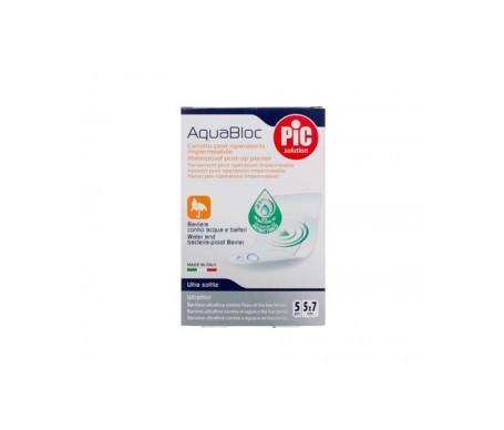 PiC Aquabloc apósito estéril post operatorio con bactericida 5x7cm 5uds
