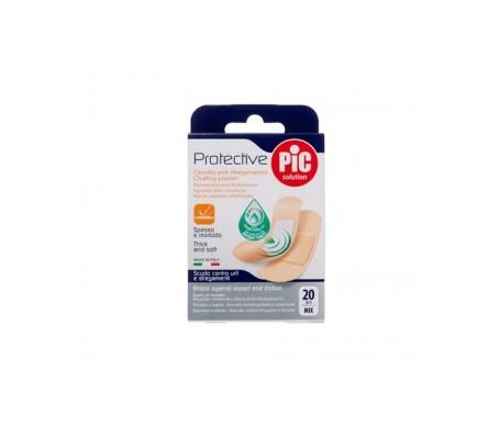 PiC Protective con bactericida apósito adhesivo surtido 20uds