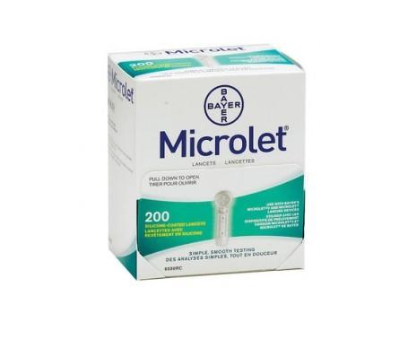 Microlet 200 lancetas