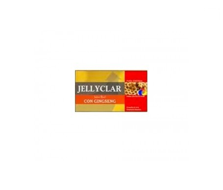 Jellyclar® Jalea Real Con Ginseng 20amp