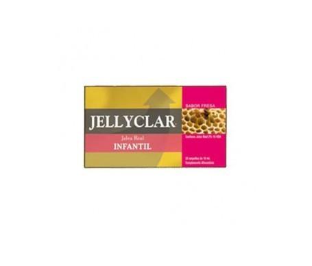 Jellyclar® Jalea Real Infantil+Lactoferrina 20amp