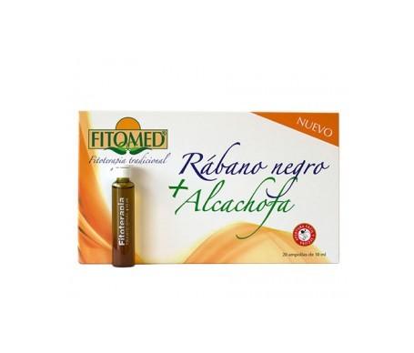 Fitomed® rábano negro + alcachofa 20amp