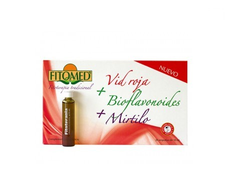 Fitomed™ red vine + bioflavonoids + bilberry 20amp