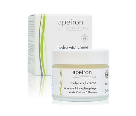 Apeiron crema hidratante vital 24h 50ml