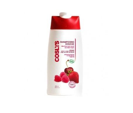 Coslys champú y gel de ducha extra suave con frutas silvestres 250ml