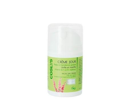 Coslys crema de día para pieles grasas 50ml