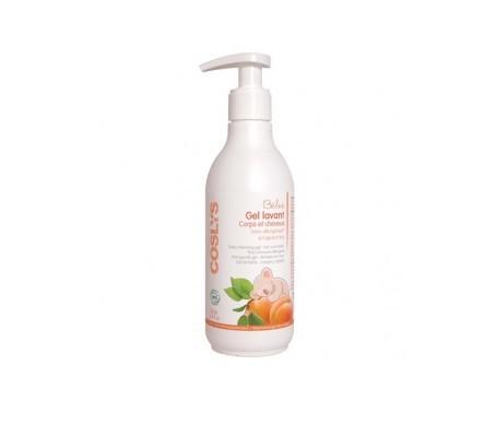 Coslys gel de ducha & champú bebé con dosificador 250ml