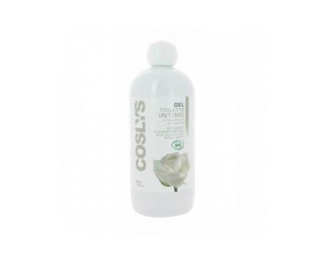 Coslys gel íntimo con agua de rosas 500ml