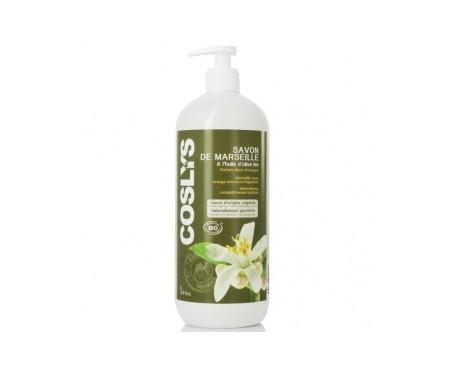 Coslys jabón de marsella al aroma de flor de naranjo 1l