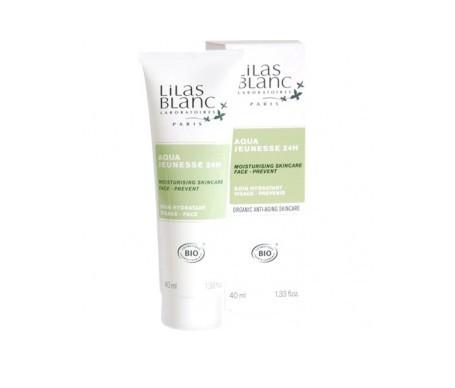 Lilas Blanc crema facial hidratante 24 horas 40ml