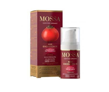 Mossa Age Excellence contorno de ojos reafirmante antiarrugas 15ml