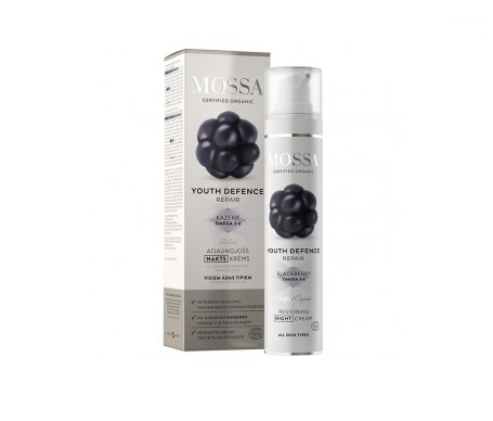 Mossa Youth Defence crema noche regeneradora 50ml